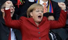 Euro 2012 clash poses dilemma for Angela Merkel: to cheer or not to cheer? Elf, Euro 2012, Zagreb Croatia, Football Match, Embedded Image Permalink, World Cup, Cheer, Poses, Celebrities