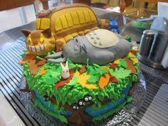 My Neighbour Totoro Cake, studio ghibli food