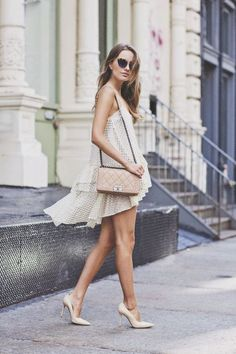 flirty and sexy spring street style