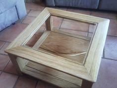Table basse avec incrustation