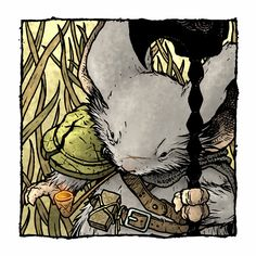 David Petersen's Blog: Mouse Guard Celanwe