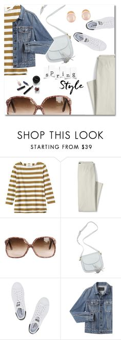 """""""Fresh Spring Style"""" by pattykake ❤ liked on Polyvore featuring Toast, Lands' End, adidas Originals, Proenza Schouler and Kenneth Jay Lane"""