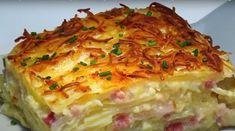 Πατάτες Ογκτατεν Cookbook Recipes, Cooking Recipes, Queso Manchego, Starters, Lasagna, Quiche, Casserole, Yummy Food, Yummy Recipes