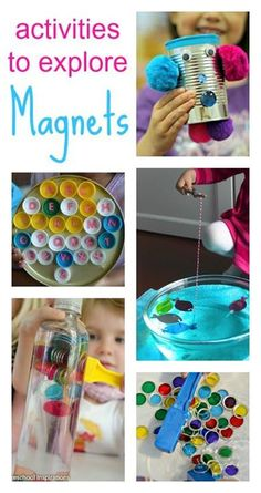 Activities to explore magnets :: kids science experiments