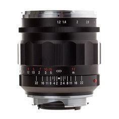 Amazon.com : Voigtlander Nokton 35mm f/1.2 II Aspherical Wide Angle Leica M Mount Lens - Black : Digital Slr Camera Lenses : Camera & Photo