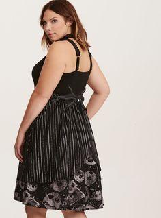 8338b812f10 Nightmare Before Christmas Jack Skellington Swing Dress