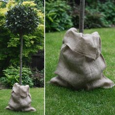 Hessian Sack / Burlap | Fill with gifts, add rustic sack to base of tree