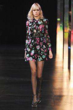 Saint Laurent: Ways To Wear: Florals, Again