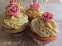 Vintage Iced Coffee Cupcakes