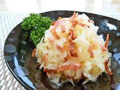 カリカリベーコンと大根の簡単サラダ副菜♪の画像