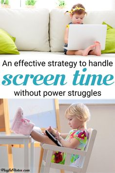Have you ever wondered how to limit screen-time without a struggle? These 5 easy rules helped us handle technology without power struggles and find a healthy balance for screen time. --- Limiting screen time for kids Screen Time For Kids, Time Kids, Limit Screen Time, Child Behavior Problems, Kids Behavior, Peaceful Parenting, Gentle Parenting, Kids And Parenting, Parenting Hacks