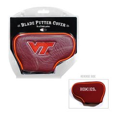 Team Golf Virginia Tech Hokies Blade Putter Cover, Multicolor