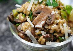 Meatless Monday: Mushroom, Leek and Lemon Risotto | Ezra Pound Cake