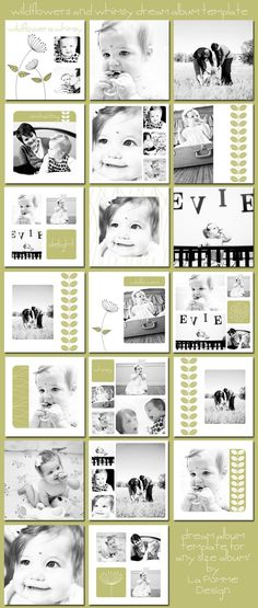 Blend of modern and retro design with only monochrome pictures.