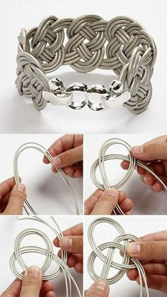 Elastic cord bracelet