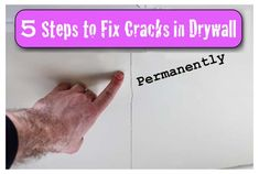 Cracks in Drywall: 5 Steps to a Permanent Fix with 3M Patch Plus Primer