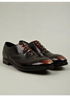 Paul Smith Men's Chuck Burnished Brogue Shoes $455 / Men;s Shoes