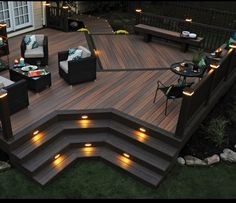 Patios and decks for small backyards patio deck designs wood design backyard plans free ideas . patios and decks for small backyards Deck Design Plans, Backyard Patio Designs, Backyard Decks, Deck Plans, Desert Backyard, Cool Deck, Diy Deck, Deck Patio, Flagstone Patio
