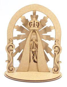 Oratório mdf Nossa Senhora