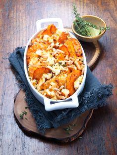 Sweet Potatoes   Süßkartoffel-Auflauf mit Pinienkernen