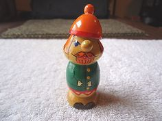 """Vintage Made In USSR Miniature Wooden Figurine """" BEATIFUL COLLECTIBLE ITEM """" #vintage #collectibles #home"""