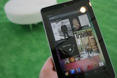 Google Nexus 7: First Jelly Bean Tablet is Light and Fast [HANDS-ON] #Google #Nexus #IO12 #Android