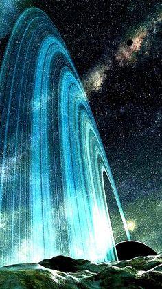 Planetary Rings.  #planets  #planetrings