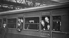 vintage train travel with the new generation of smokers who can only afford to travel third class