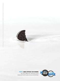 Minimal Print Advertisements | Oreo