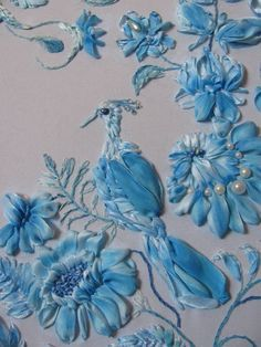 Stumpwork Embroidery Tutorial | Needlework: Silk Ribbon & Stumpwork Embroidery
