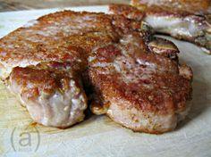 Juicy Skillet Fried Thick-Cut Pork Chops