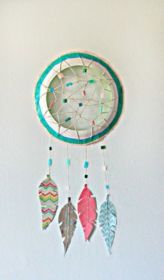Paper Plate Dream Catcher | Fun Family Crafts