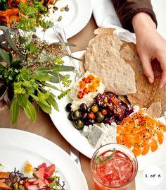 delicious mezze platter