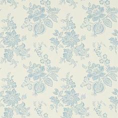 Damask Wallpaper, Wallpaper Direct, Print Wallpaper, Wallpaper Roll, Bedroom Wallpaper, Blue And White Wallpaper, Painted Rug, Wallpaper Calculator, Modern Country