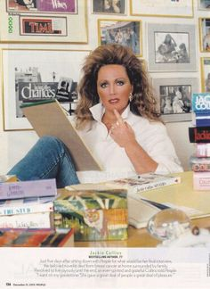 Jackie Collins ~ The Real LADY BOSS