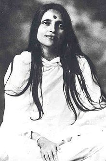 """Sri Anandamayi Ma - """"Who is it that loves and who that suffers? He alone stages a play with Himself; who exists save Him? The individual suffers because he perceives duality. It is duality which causes all sorrow and grief. Find the One everywhere and in everything and there will be an end to pain and suffering.""""[1]"""