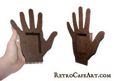NEW Hand Shrine Kits from www.RetroCafeArt.com