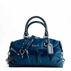 Cobalt blue Coach :) I have this same style in two different colors but they def didn't have this when I went last! LOVE!