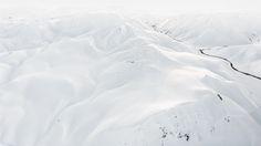 Whiteout. -  My favourite scene from last winter. Landmannalaugar, Iceland.