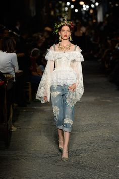 Dolce & Gabbana - Alta Moda Autumn/Winter 2016 Couture Collection   British Vogue