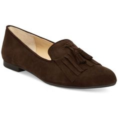 Adrienne Vittadini Aldon Loafers ($52) ❤ liked on Polyvore featuring shoes,  loafers,