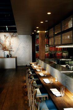 Saké Restaurant & Bar, The Rocks, Australia by Luchetti Krelle