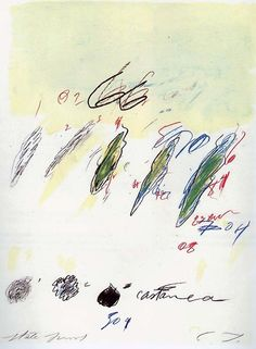 Cy Twombly: Natural History Part II, Castanea Sativa, Robert Rauschenberg, Cy Twombly Paintings, Abstract Expressionism, Abstract Art, Fox Art, Pictures To Paint, Art Inspo, Painting & Drawing, American