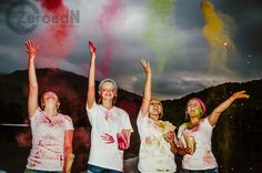 Fun with Holi Paint.  ZeroedN Photography's senior reps did this for an amazing shoot in Georgia.