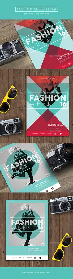 Fashion Show Flyer Template PSD #design Download: http://graphicriver.net/item/fashion-show-flyer/14125118?ref=ksioks