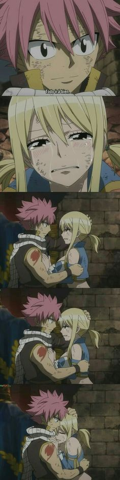 Natsu is such an amazing character. The best thing about Natsu is that he is always so sweet to all of his friends, because to him they are family; especially his friends at Fairy Tail.