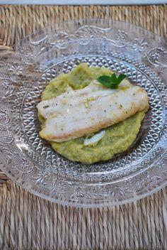 Sorelle in pentola: Filetto di San Pietro con crema di zucchine e ment...