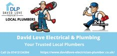 Looking for a Trusted Local plumber that is nearby? David Love Electrical & Plumbing is here to help. We have experienced staff for your plumbing emergency. David Love Electrical & Plumbing is here to relieve the stress of your plumbing problems. We offer 24-hour emergency plumbing services in Edinburgh, Dalkeith, Midlothian and surrounding areas, and Our professional plumbers also provide any repairs and maintenance your home may need, such as; Boiler Replacement, blocked drains, etc Local Plumbers, Plumbing Emergency, Plumbing Problems, Emergency Response, Boiler, Edinburgh, Stress, David, Psychological Stress