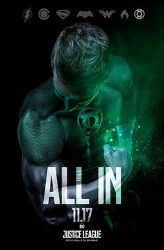 #Greenlantern is ALL IN. Fan Art New #JusticeLeague trailer coming Sunday. #dccomics Marvel & DC United Marvel And DC United