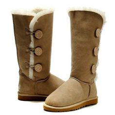Ugg Boots Bailey Button Triplet Sand. Some less than $80.00 OMG! Holy cow, I am gonna love this site! uggboots-onlinesale.jp.pn $89.99  LOVE it #UGG #fashion This is my dream ugg boots-fashion ugg boots!!- luxury ugg boots. Click pics for best price-$92.39